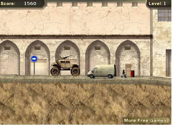 Игра Военная машина онлайн