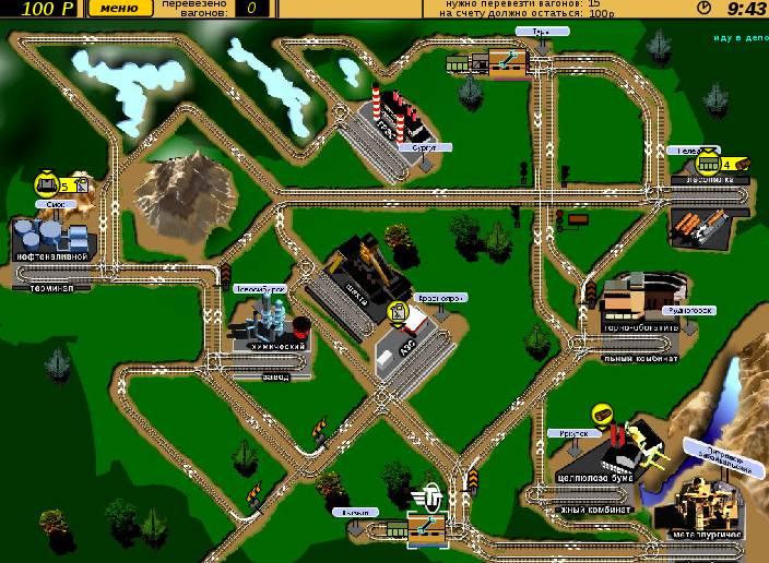 Игра Железнодорожники онлайн