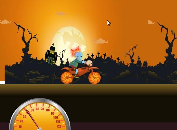 Игра Зомби на байке онлайн