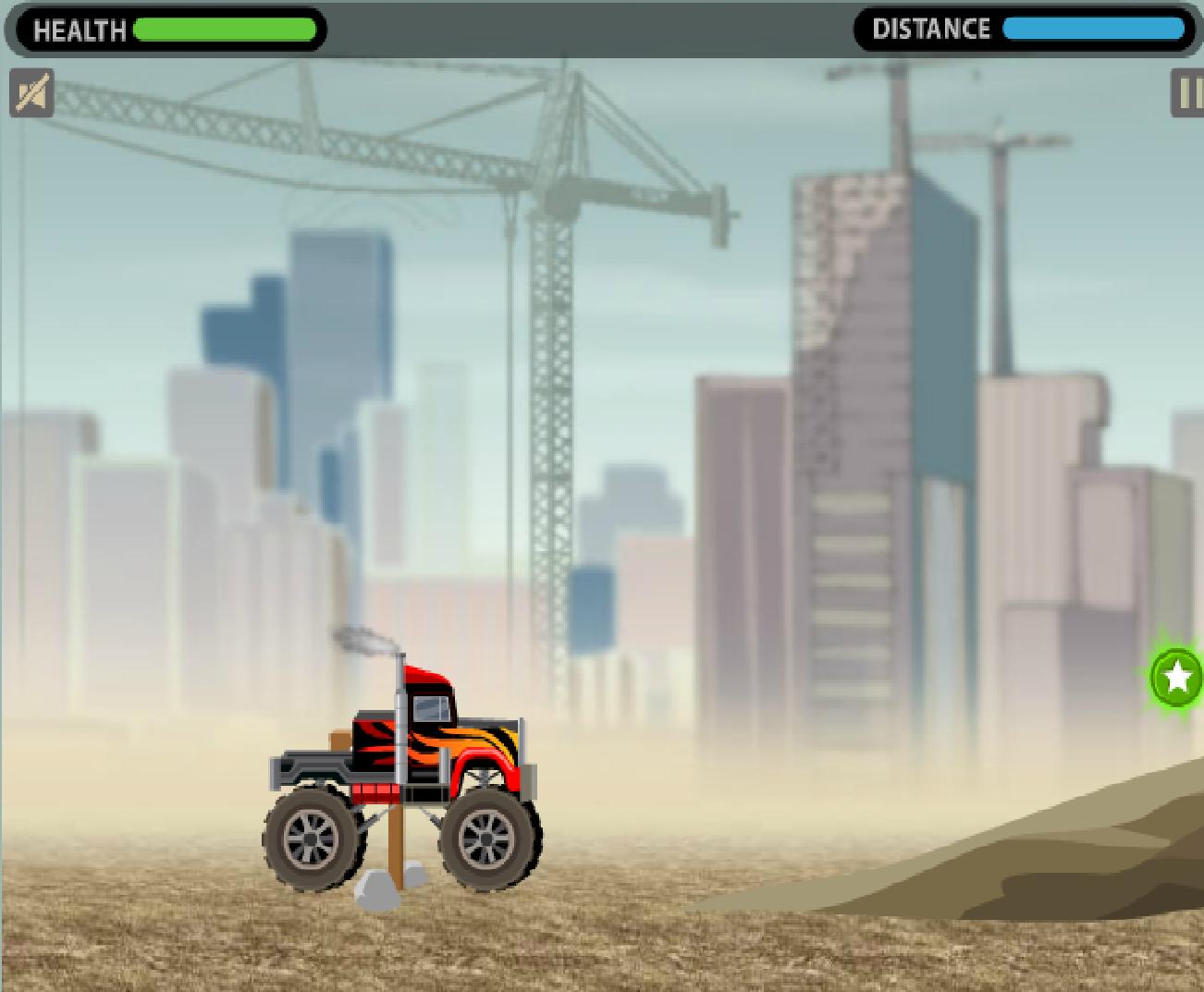 Игра Мего грузовик онлайн