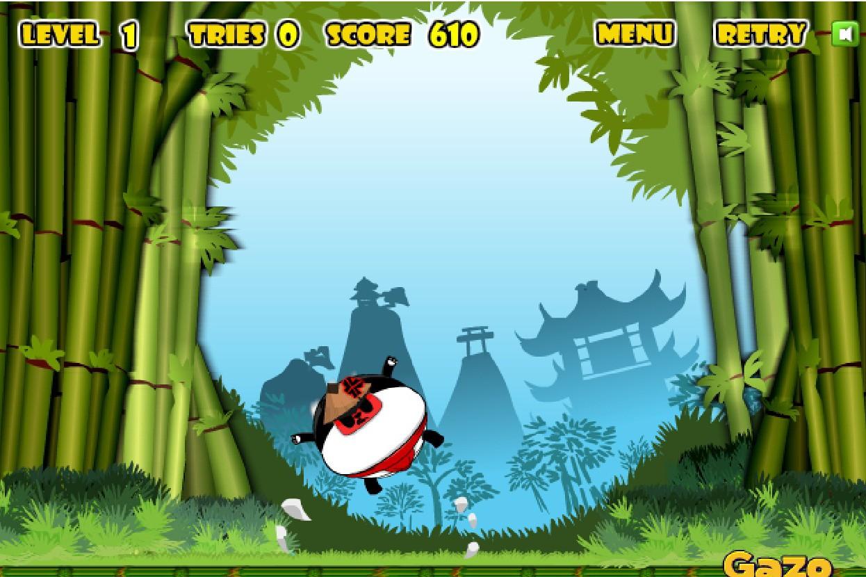 Игра Панда самурай онлайн