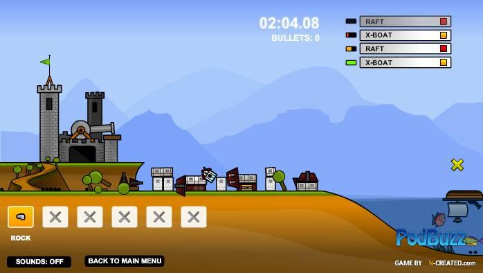 Игра Песочный замок онлайн