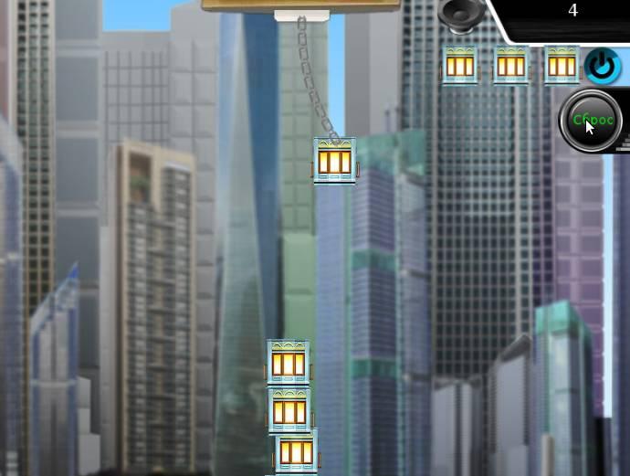 Игра Построить башню онлайн