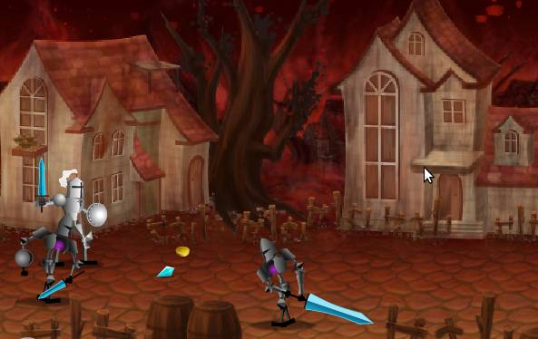 Игра Голубой рыцарь онлайн