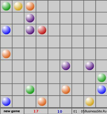 Игра Линии (Lines) онлайн