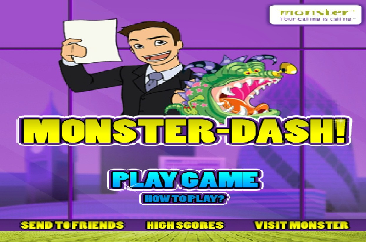 Игра Monster-Dash онлайн