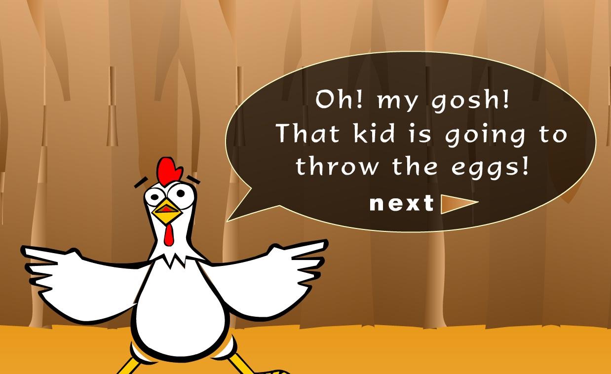 Игра Поймай яйца онлайн
