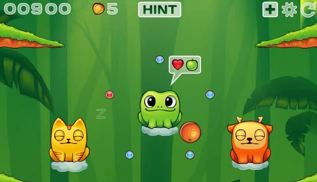 Игра Накорми фруктами онлайн