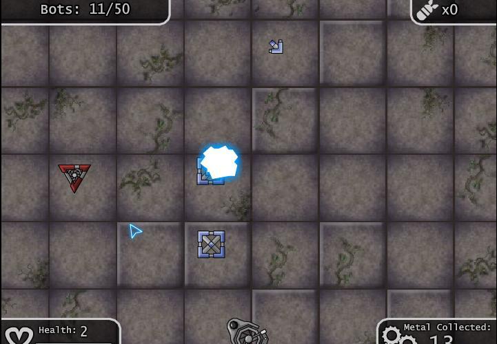 Игра Hover bot arena 2 онлайн