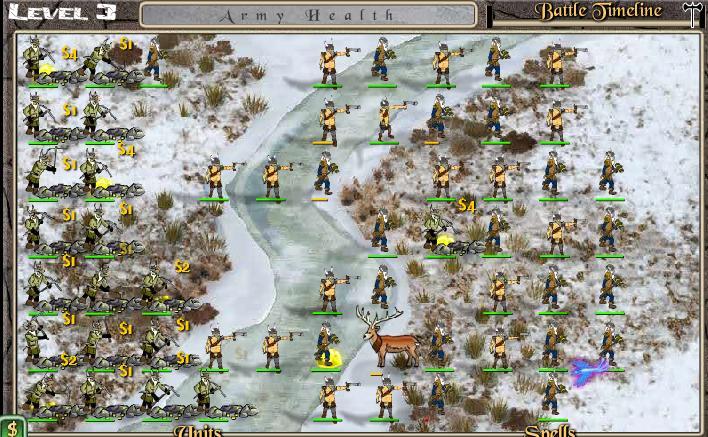 Игра Dwarf War онлайн