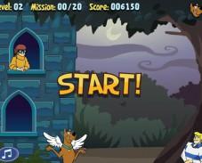 Игра Скуби Ду сердечки онлайн
