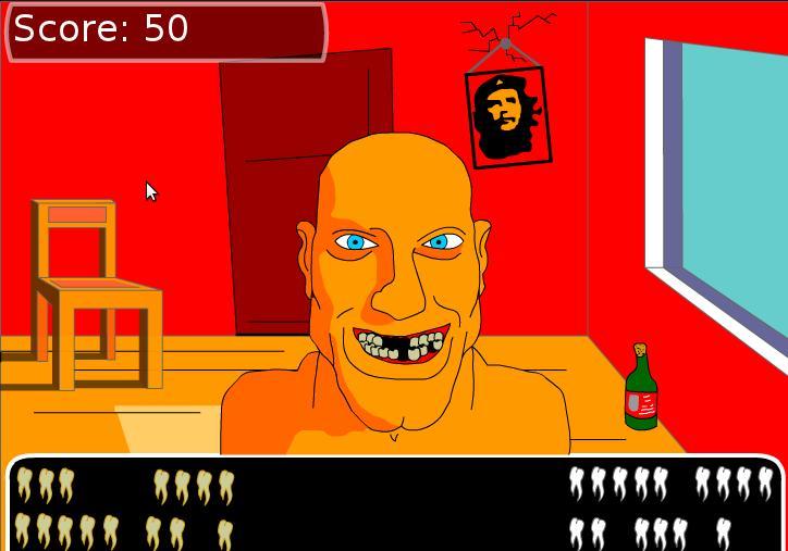 Игра Выбей Зубы онлайн