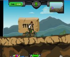 Игра Ben 10 BMX онлайн
