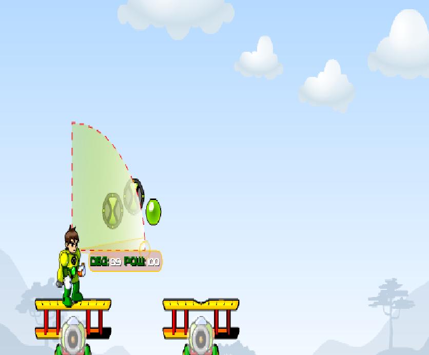 Игра Ben 10 Super Pilot онлайн