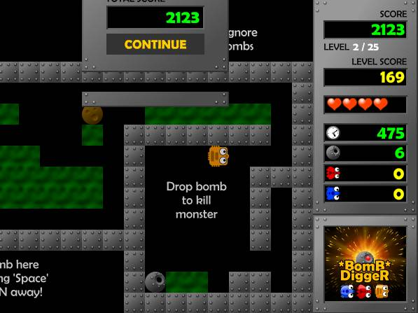 Игра Bomb Digger онлайн