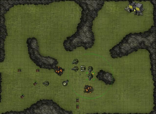 Игра Command Grid онлайн
