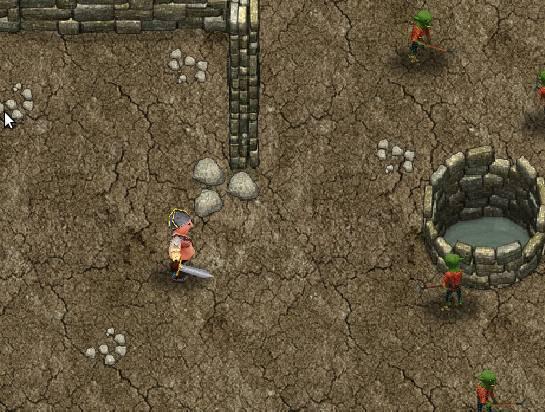 Игра Fat Warrior онлайн