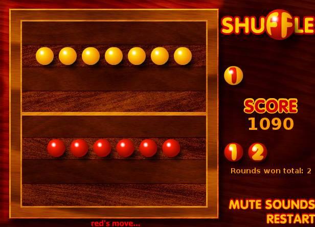 Игра Shuffle (бильярд с чапаевым) онлайн