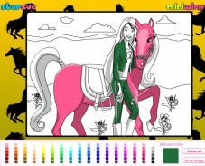 Игра Барби и пони онлайн