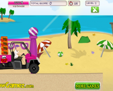 Игра Пляжный багги онлайн
