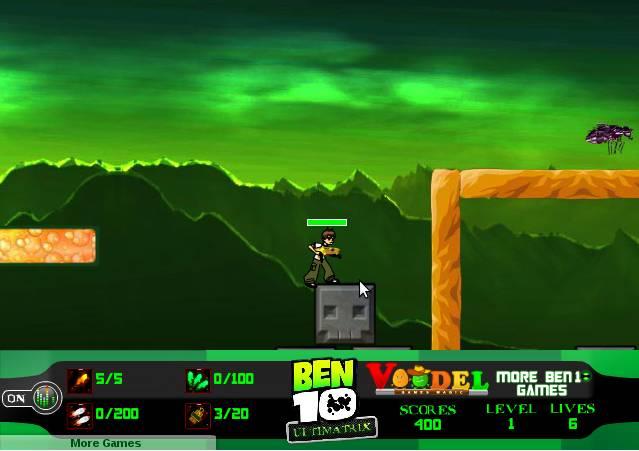 Игра Бен 10: Ультиматрица онлайн