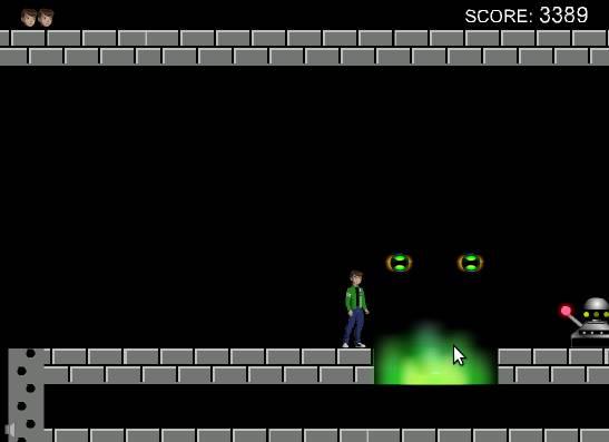 Игра Бен 10 в подземелье онлайн