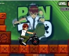 Игра Бен 10 гонщик онлайн