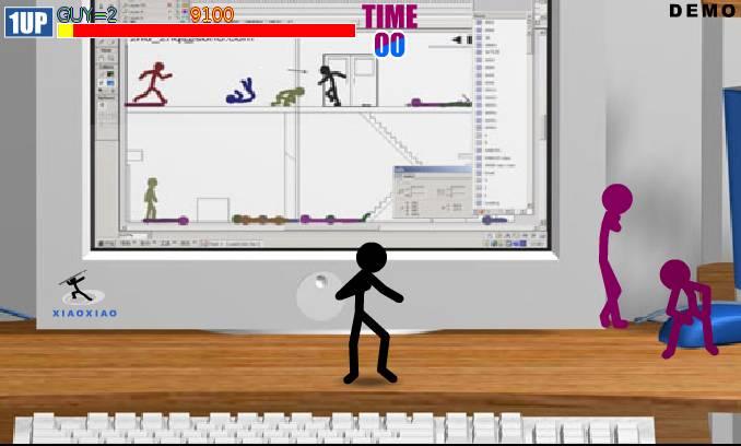Игра Драка человечков онлайн