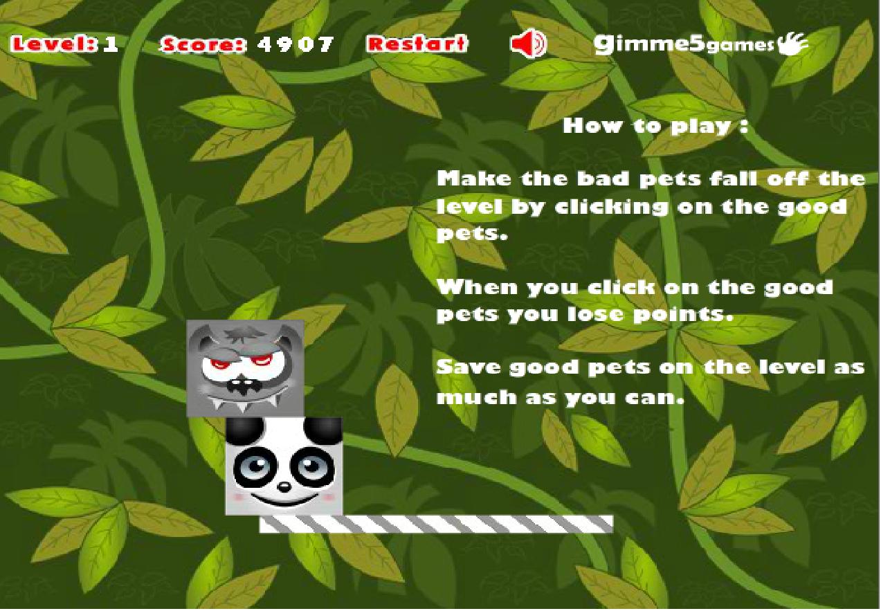 Игра Doodle Pets онлайн
