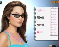 Игра Макияж: Анджелина Джоли онлайн