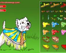 Игра Одень собаку онлайн