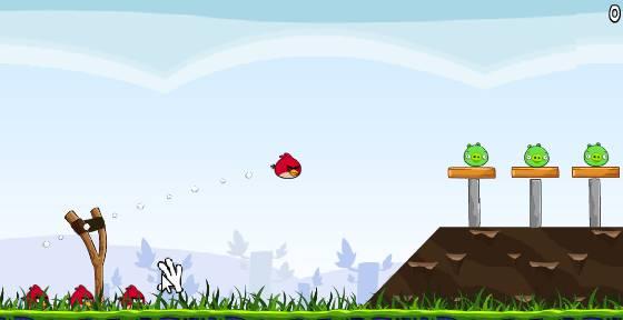 Игра Angry Birds (Сердитые птицы) онлайн