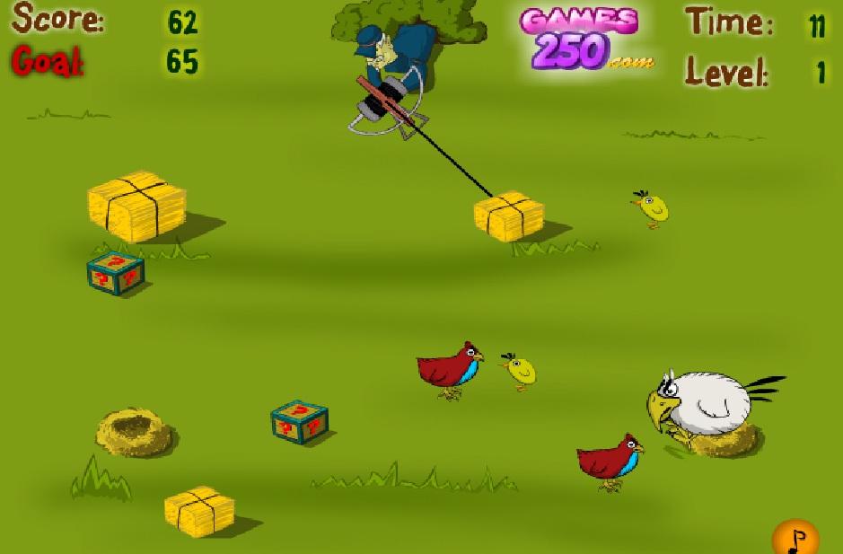 Игра Birds Catcher (Ловля птиц) онлайн
