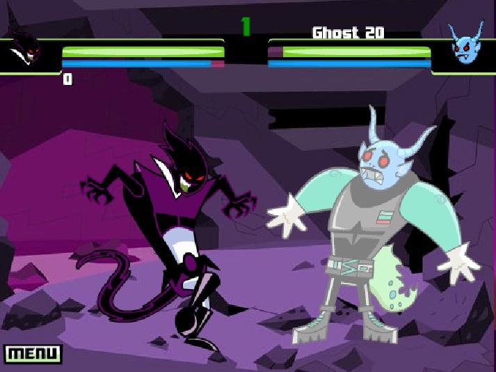 Игра Danny Phantom онлайн