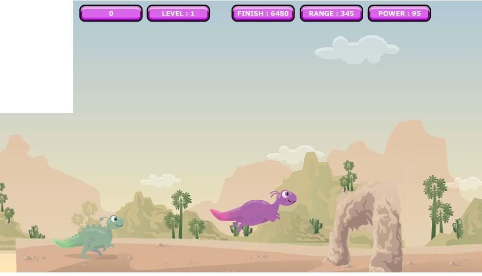 Игра Dino Faster онлайн