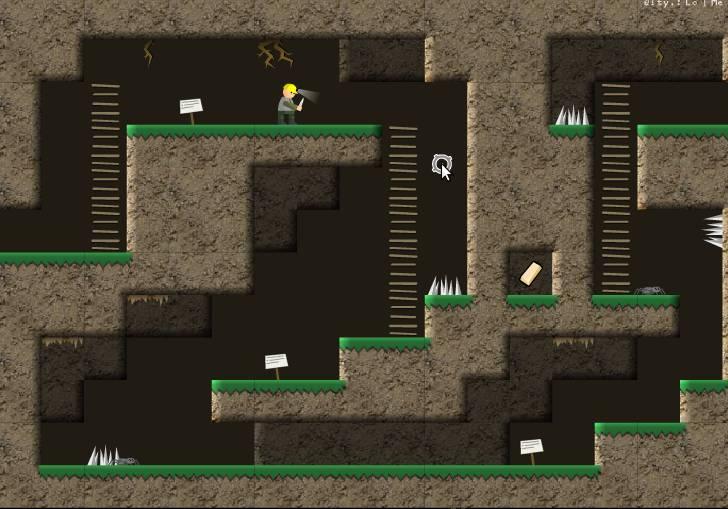 Игра Dungeon Cleaner онлайн