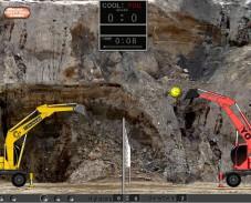 Игра ExcavatorBall онлайн