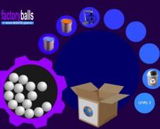 Игра Factory balls (Фабрика шаров) онлайн