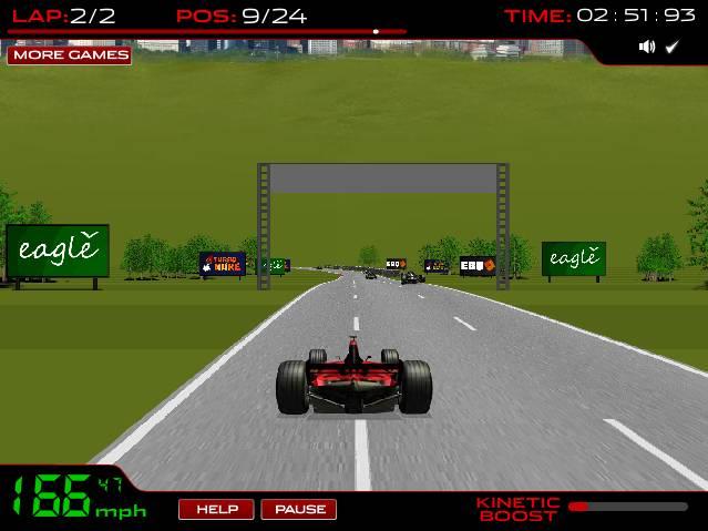 Игра Formula Racer (гонщик формулы) онлайн