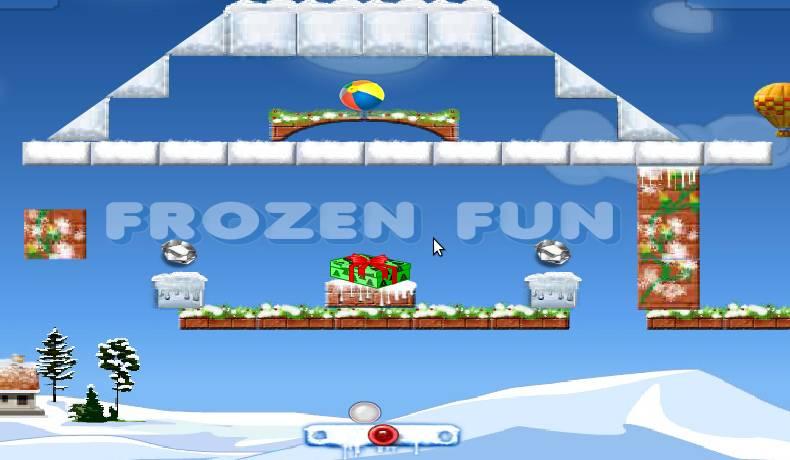 Игра Frozen Fun онлайн