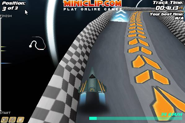 Игра Jet Velocity 3D онлайн