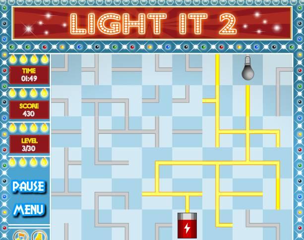 Игра Light It 2 онлайн