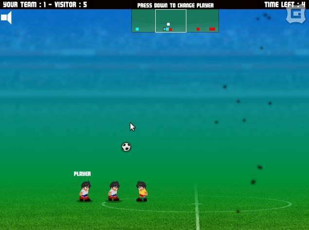 Игра Micro Soccer Football онлайн