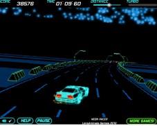 Игра Неоновые гонки онлайн