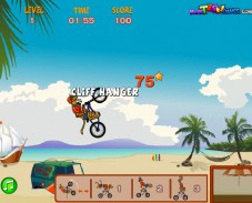 Игра Scooby Doo Beach BMX онлайн