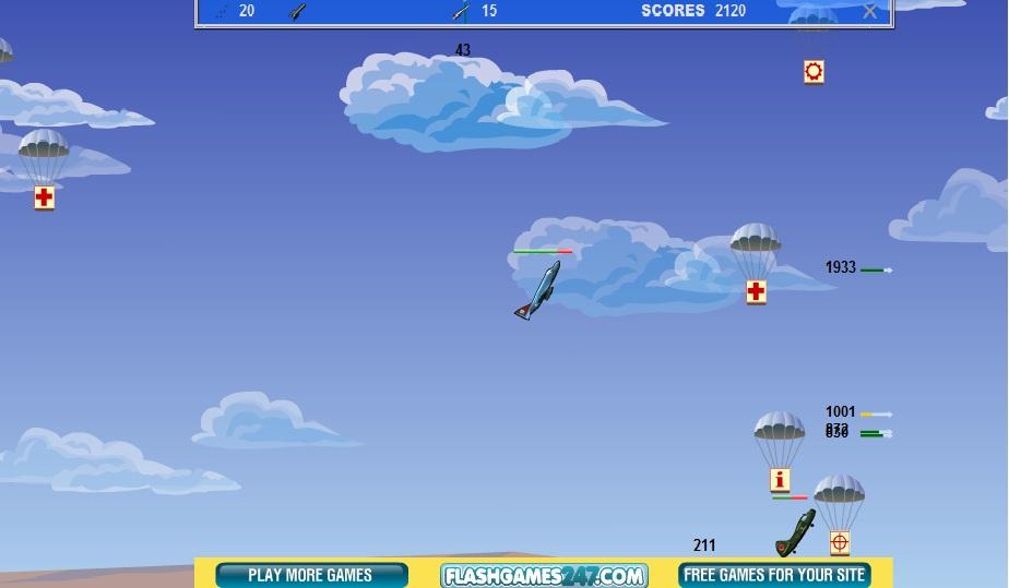 Игра Sky Fighters онлайн