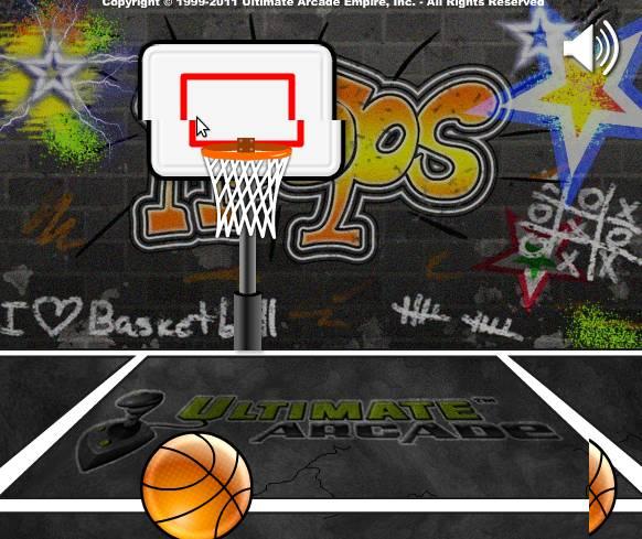 Игра Ultimate Mega Hoops онлайн