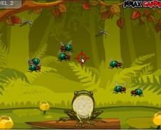 Игра Голодная Лягушка онлайн