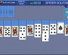 Игра Пасьянс паук онлайн