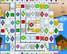 Игра Сундук с сокровищами маджонг онлайн